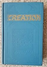 1927 CREATION J F RUTHERFORD Watchtower Jehovah ORIGINAL IBSA COVER