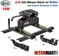 A16  5TH WHEEL TRAILER HITCH w ROLLER PACKAGE 2011-2016 FORD F250SD  F350 PICKUP