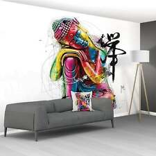 Patrice murciano no tejida pegue la pared XXL Mural de Pared 3.66 X 2.53M - Budda