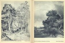 Paintings of the Norwich School by G V Barnard: Crome, Cotman, Standard