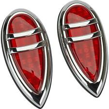 Speedway Motors 1938-1939 Lincoln Zephyr LED Retrofit Tail Lights Pair Kit