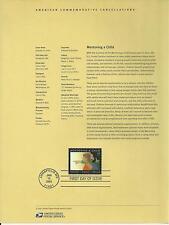 # 3556 MENTORING A CHILD 2002 Official Souvenir Page