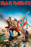 """IRON MAIDEN POSTER """"THE TROOPER"""" LICENSED """"BRAND NEW"""""""