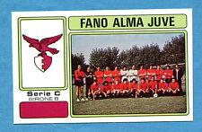 CALCIATORI PANINI 1976-77-Figurina-Sticker n. 555 - FANO ALMA JUVE - C2B -Rec