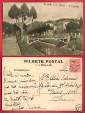 CPA postcard pont Avenida 1e de Marco PETROPOLIS Brazil A
