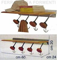 percha pared mueble estanteria de madera - cintre mur  Foppapedretti HIPPO 4
