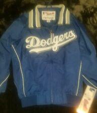 NWT Los Angeles Dodgers Majestic Therma Base Zip-Up Jacket Boys size medium MLB