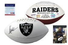 Marcus Allen SIGNED Oakland Raiders Football - PSA/DNA Autographed w/ Photo