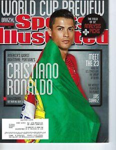 2014 6/9 Sports Illustrated magazine soccer Cristiano Ronaldo Brazil, World Cup