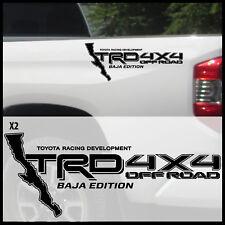 Toyota Tacoma Tundra TRD 4X4 Off Road decal sticker Baja edition Sport racing