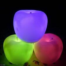 New Apple Shape Color Changing LED Lamp Night Light Child Kids Gift Home Decor