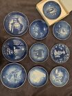 Lot+Of+17+B%26G+Bing+And+Grondahl+Plates