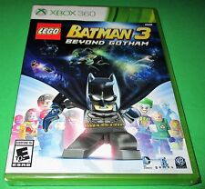 LEGO Batman 3: Beyond Gotham Microsoft Xbox 360 *New-Sealed-Fast Shipping!
