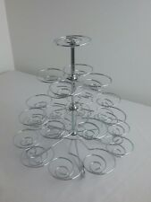 23 Cupcake Wedding Birthday Party Stand Cup Cake Holder Stand in Storage Box S