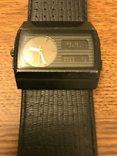 "VESTAL ""Monte Carlo"" Mens Digital and Analog Watch New Batteries"