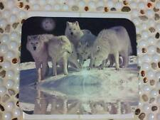 Wolf Mouse Pad - White Wolves