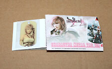 2011 Square Enix Final Fantasy XIII-2 Character Metal Tag PS3 Xbox 360