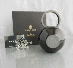 Rosenthal Versace La Medusa Black Sugar Bowl 0,32 L. NEW & OVP