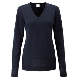 Ping Navy Blue Bonnie Golf Sweater UK 10