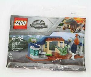 LEGO Jurassic World 30382 Polybag - Baby Velociraptor Playpen - Brand NEW