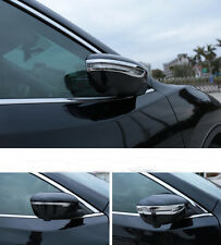 2pcs Chrome Rearview Side Mirror Trim Cover Fit For Nissan X-trail Rogue 2014-16
