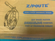 ZIPOUTE Snorkel Full Face Snorkel Mask L/XL