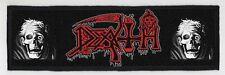 DEATH SUPERSTRIP PATCH / SPEED-THRASH-BLACK-DEATH METAL