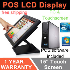 New Touchscreen 15inch Point of Sale System Pos Restaurant Bar Liquor Store