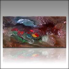 Vnartist / ORIGINAL 100cm x 50cm Abstrakt Gemälde Modern XXL Bilder 1059