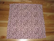 "Leopard Cub Design Plush Beige Baby Girl PV Blanket Pink Trim 30/""x40/"""