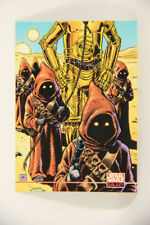 L008337 Star Wars 1994 Topps Trading Card #228 / Jawas Lead C-3PO / ARTWORK