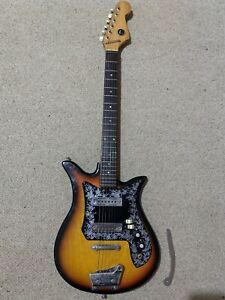 Kay Teisco ET-200 Tulip Vintage 60's Electric Guitar Made In Japan