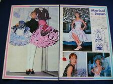 1960s Marisol Japan VINTAGE 12 Clippings LA NUEVA CENICIONTA UN RAYO DE LUTZ VER