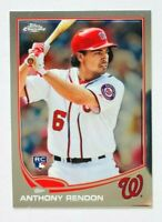 2013 Topps Chrome Anthony Rendon RC #MB-5, Nationals Rookie!
