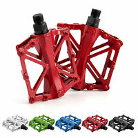 9/16 in Pedals Cycling Mountain MTB BMX Bike Bicycle Bearing Alloy Flat Platform