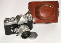 Rare USSR camera START + 13 blades Helios-44 lens 2/58 Zeiss Biotar copy EXC!