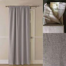Luxury Thermal Self Lined Door Curtain Panel Blackout Energy Saving Window