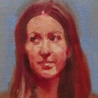 Look of Disdain : Original Impressionist Oil Painting on Canvas : by Fenwick