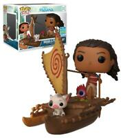 FUNKO Pop Moana & Pua On Boat 62 Vaiana Figure 9 CM Disney Limited Edition 1