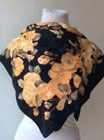 Foulard scarf seta fiori
