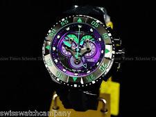 Invicta Reserve INDIGO Purple Master Calendar 5040F Swiss Made Black Strap Watch