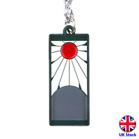 Unisex Demon Slayer Pendant Necklace - Kimetsu no Yaiba - UK Stock