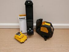 DEWALT DCE088 10.8v XR Green Cross Line Laser Bare Unit Bracket & Dcb127 2 Ah