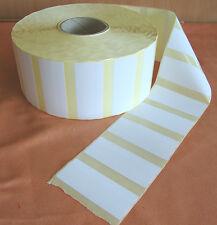 7500 Weber Etiketten 100 x 40 mm weiß selbstklebend Rolle Adressaufkleber  1893