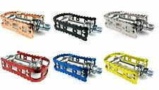 MKS BM-7 1/2 Inch Old School BMX Alloy Pedals For 1 Piece Cranks Raleigh Burner
