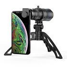 APEXEL HD 20-40X Zoom Telescope Telephoto Lens with Tripod Monocular Mobile