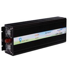 2500W Pure Sine Wave Power Inverter 24V to 110V 120V Off Grid Led Display Solar