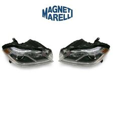 For Mercedes X166 GL Turbo Pair Set of 2 Halogen Headlights Assemblies Magneti