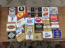 Vintage and Rare Beer Label Lot (Nos)