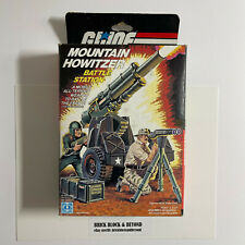 New listing Hasbro G.I.Joe Arah 1984 Mountain Howitzer Battle Station Mib Sealed Contents